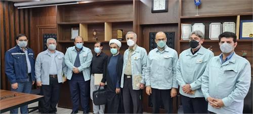 امین ابراهیمی مدیرعامل با آزادگان سرافراز شرکت فولاد خوزستان دیدار کرد
