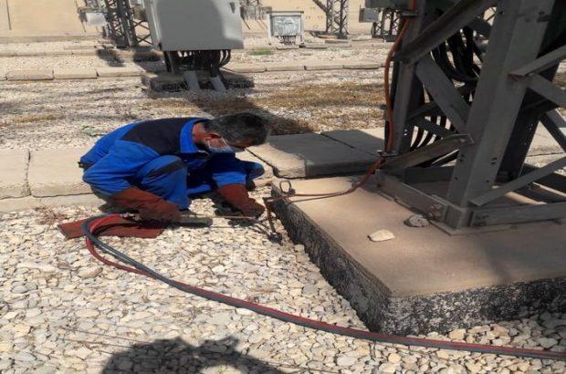 پروژه اصلاح و ترمیم گراند پست ۴۰۰ KV نیروگاه سد شهید عباسپور