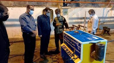 طراحی و ساخت یک دستگاه کارواش صنعتی در سد و نیروگاه کارون ۳