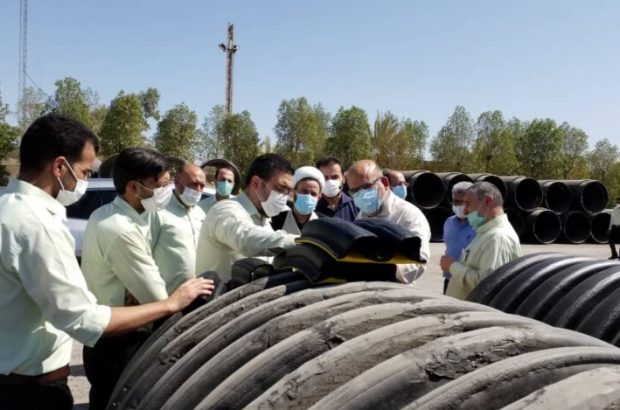 تامین نیازهای بخش آب و فاضلاب خوزستان با اصلاح خط تولید لولههای پلیاتیلن