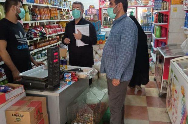 گشت مشترک نظارت و بازرسی در شهرستان مسجدسلیمان