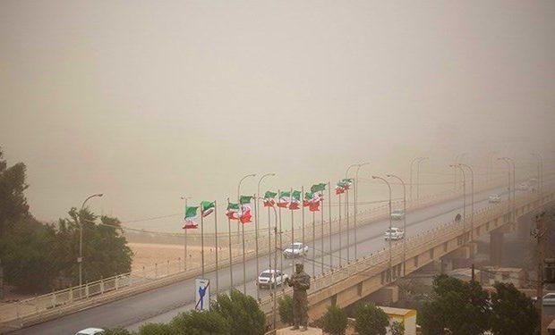 پیش بینی گردوغبار محلی در خوزستان