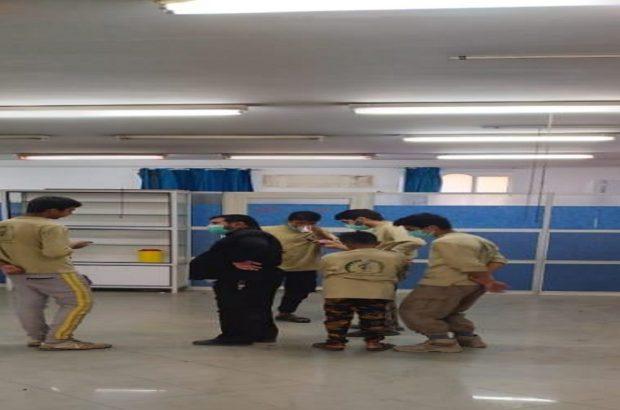 تبدیل یک متروکه به بیمارستان مجهز برای بیماران کرونایی