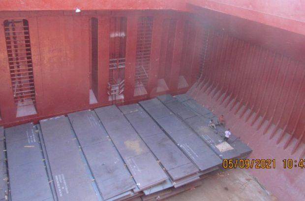 از سرگیری صادرات مستقیم محصولات شرکت فولاد اکسین خوزستان