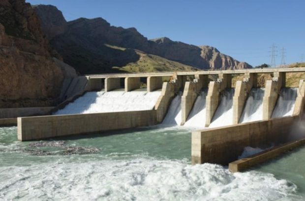 رهاسازی آب از سد مارون با دبی ٧۵ مترمکعب برثانیه