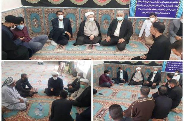 بازدید رئیس کل دادگستری خوزستان از منطقه ملاشیه