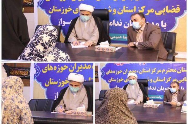 رئیس دادگستری خوزستان: بازديد قضات از زندان، نتایج اثر بخشی در کاهش جمعیت کیفری دارد