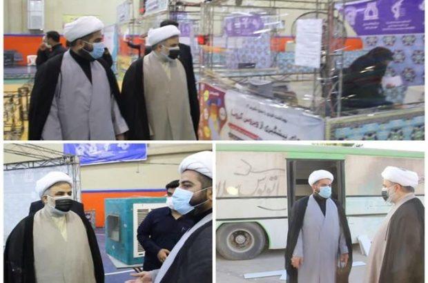 بازدید سرزده رئیس کل دادگستری خوزستان از مرکز منتخب نمونه گیری بیماری کرونا