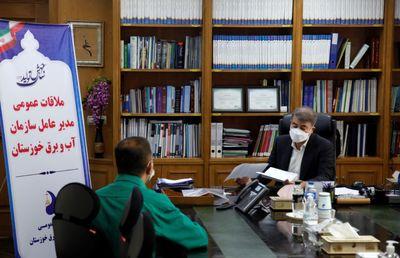 ملاقات عمومی مدیرعامل سازمان آب و برق خوزستان