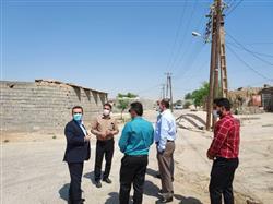 مدیرعامل شرکت توزیع نیروی برق خوزستان از پروژه های درحال اجرای شهرستان هفتگل بازدید کرد